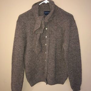 Brown Nordstrom Wool Cardigan